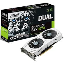 ASUS DUAL-GTX1070-O8G Graphics Card